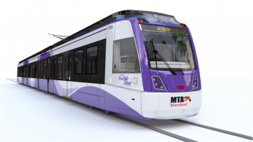 Purple Line Train