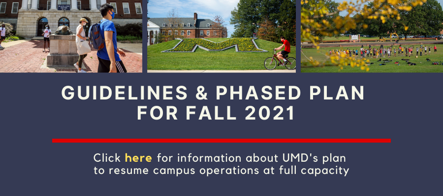 Guidelines and Phased Plan for Fall 2021