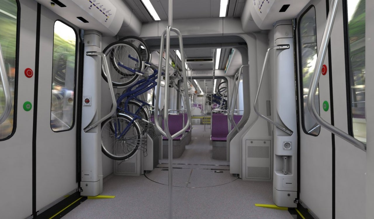 Purple Line Car