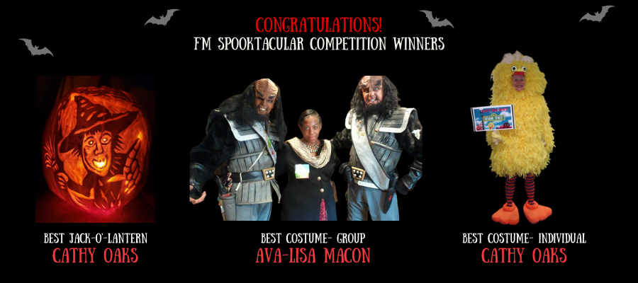 Cathy Oaks- Best Carved Pumpkin & Best Individual Costume; Ava-LIsa Macon - Best Group Costume